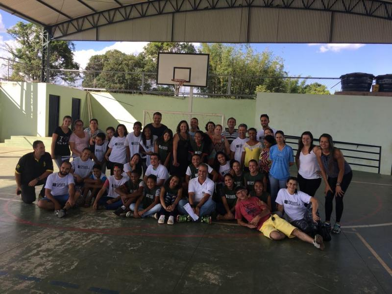 Curso Recreação e Socialização entre Professores e Alunos - Escola Coronel Hermenegildo Ladeira