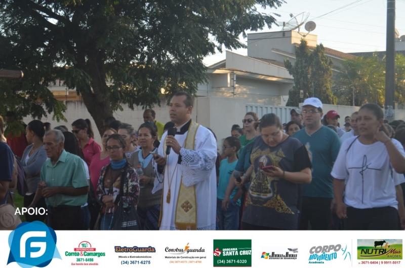 Caminhada da Fé na 152ª Festa em Exaltação a Santa Cruz e VII Festa do Carro de Boi em Guarda dos Ferreiros - Guarda dos Ferreiros